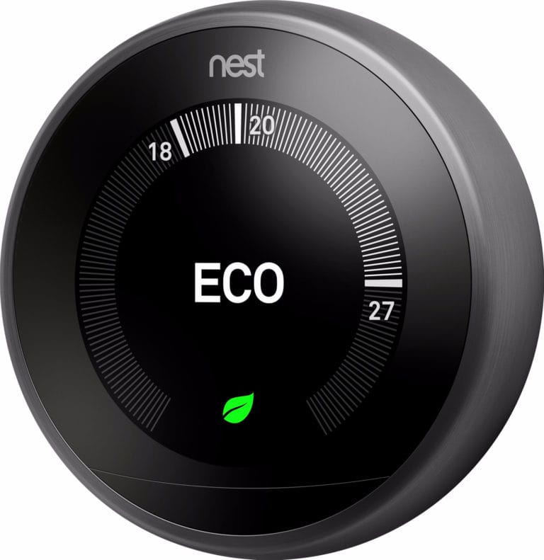 Google Nest Learning Thermostat V3 Vooraanzicht