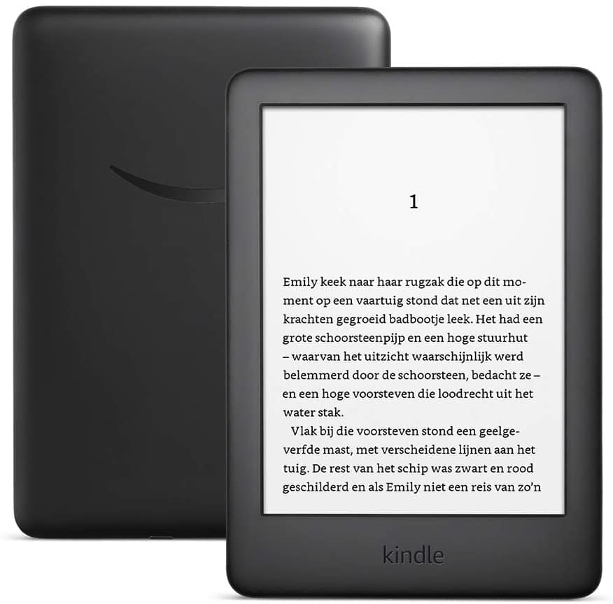 Amazon Kindle met ingebouwde schermverlichting, zwart