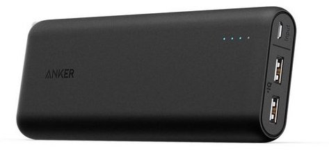 Anker PowerCore Powerbank - 20.100 mAh - Zwart in beeld