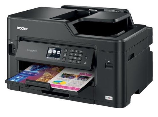 Brother MFC-J5330DW - All-in-One Printer achetrkant in beeld