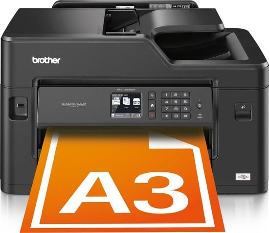 Brother MFC-J5330DW - All-in-One Printer in beeld met A3 blad