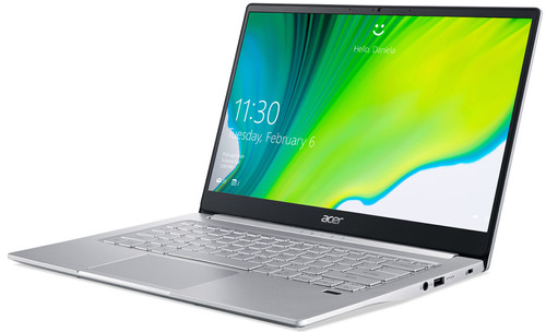 acer swift 3 sf314 59 734h zijzicht
