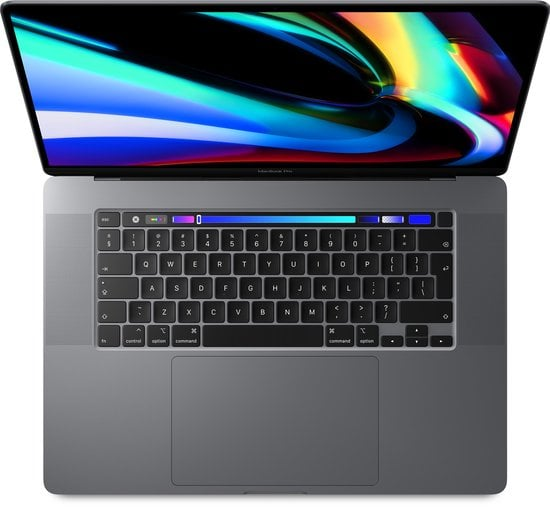 Apple MacBook Pro (2019) Touch Bar MVVK2 - 16 inch - Intel Core i9 -1TB - Spacegrijs
