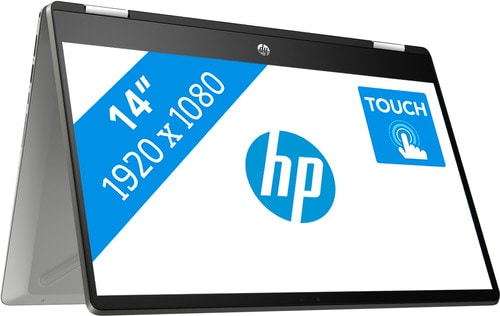 HP Pavilion x360 14-dh1978nd in tentmodus