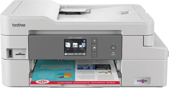 brother dcp j1100dw all in one box inktjet printer