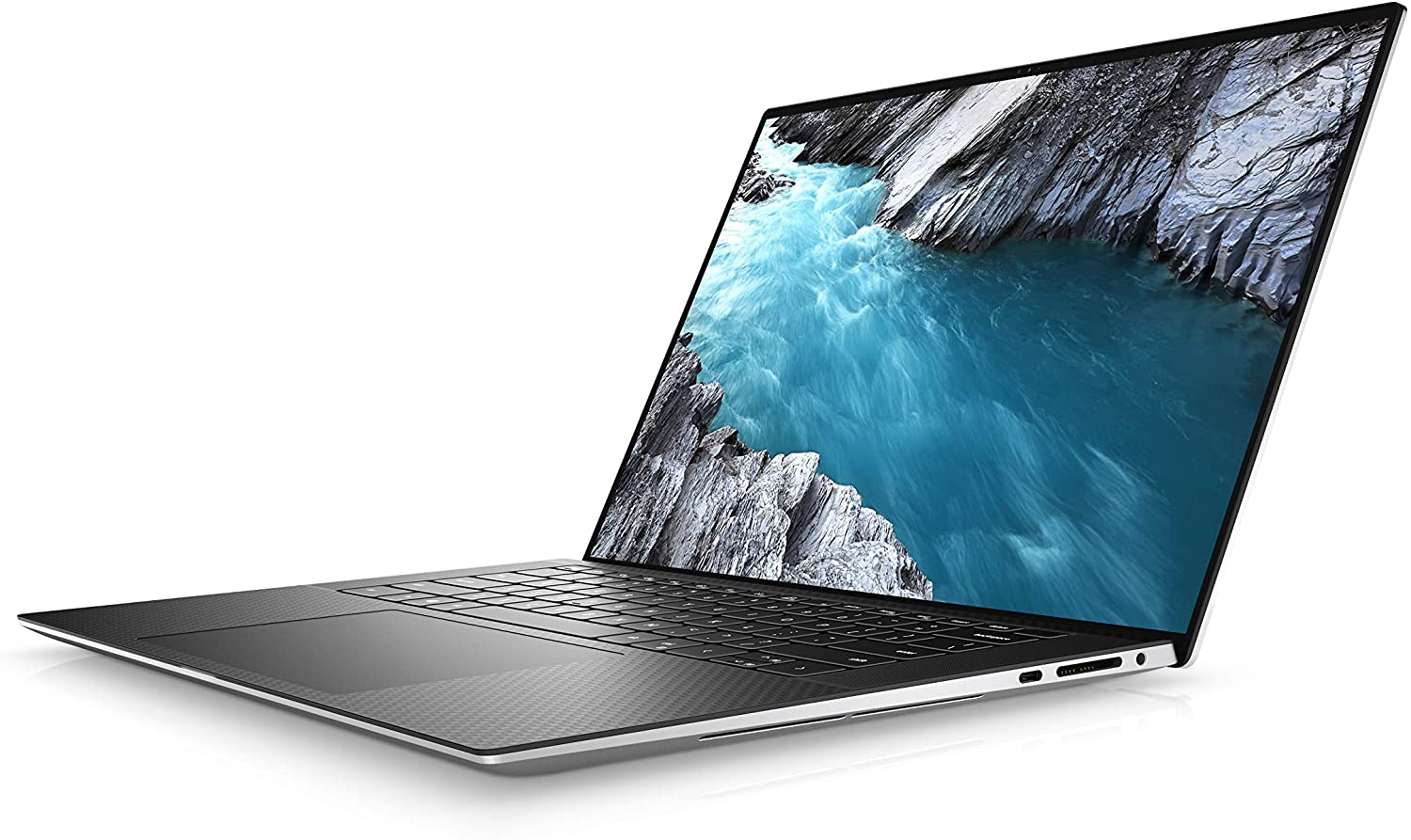 dell xps 15 9500 notebook black silver