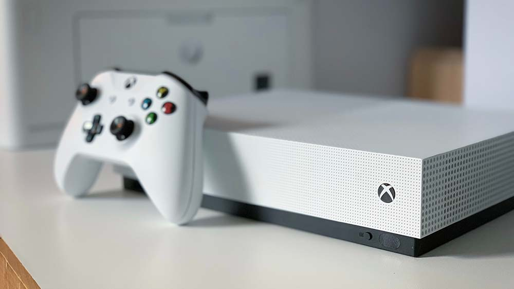 Xbox One S volledig digitale console